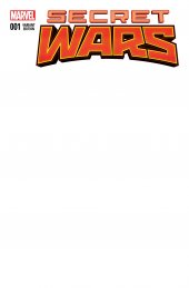 Secret Wars #1 Blank Variant