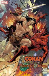 Conan: Battle for the Serpent Crown #1 1:25 Daniel Variant