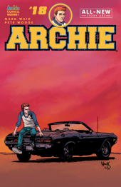 Archie #18 Cover C Robert Hack with Kelly Fitzpatrick