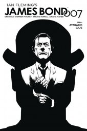 James Bond 007 #5 1:20 Gorham B&w Cover