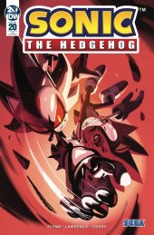 Sonic the Hedgehog #20 1:10 Cover Fourdraine