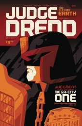 Judge Dredd: Blessed Earth #4 Cover B Whalen