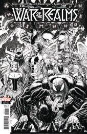 War of the Realms #4 1:200 Arthur Adams B&W Variant