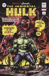 Absolute Carnage: Immortal Hulk #1 Mico Suayan NYCC Variant