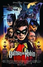 Batman and Robin #40 Movie Poster Variant
