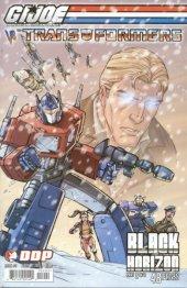 G.I. Joe vs. The Transformers: Black Horizon #2 Cover B
