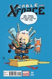 Cable and X-Force #1 Young Baby Variant