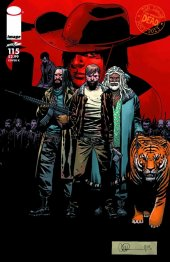 The Walking Dead #115 Cover K
