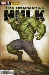 The Immortal Hulk: The Best Defense #1 Adi Granov Variant