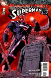 Blackest Night: Superman #1 2nd Printing