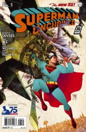 Superman Unchained #5 75th Anniversary 1930s Cover