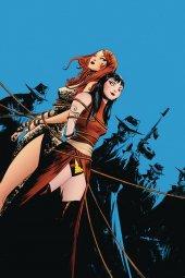 Vampirella / Red Sonja #7 Lee Ltd Virgin Cover