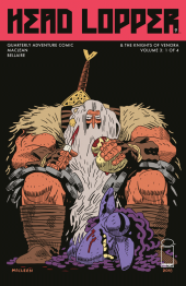 Head Lopper #9 Original Cover