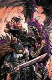Dark Nights: Metal #1 Tyler Kirkham Wonder Woman Virgin Variant