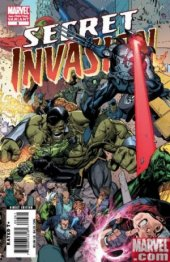 Secret Invasion #3 2nd Printing
