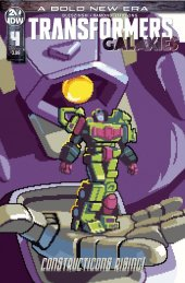 Transformers: Galaxies #4 1:10 Incentive Variant