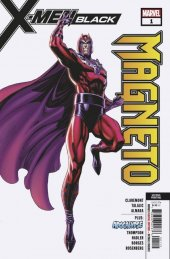 X-Men: Black - Magneto #1 2nd Printing J. Scott Campbell Variant