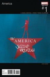 America #1 2nd Printing Veregge Hip Hop Variant