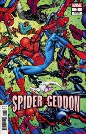 Spider-Geddon #2 Nick Bradshaw Variant