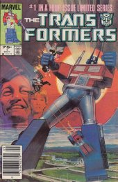 The Transformers #1 Newsstand Edition