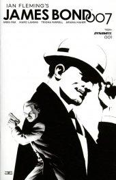 James Bond 007 #1 1:20 Cassaday B&w Cover