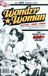 Wonder Woman #600 75th Anniversary B&W Variant Edition
