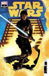 Star Wars #1 1:50 Luke Variant Cover by Adam Hughes