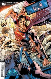 Superman #25 Variant Cover by Bryan Hitch