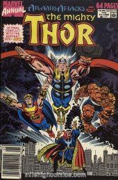 The Mighty Thor Annual #14 Newsstand Edition