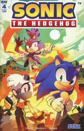 Sonic the Hedgehog #4 Cover B Stanley