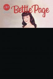 Bettie Page #1 Black Bag Photo Variant
