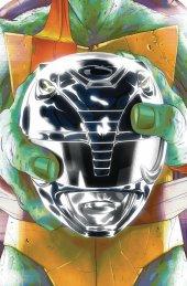 Mighty Morphin Power Rangers / Teenage Mutant Ninja Turtles #5 Michelangelo Variant