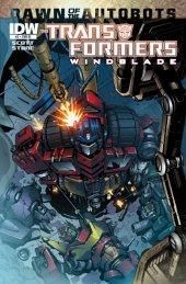 The Transformers: Windblade #2 Cover RI