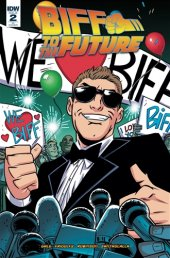 Back to the Future: Biff to the Future #2 Retailer Incentive Cover