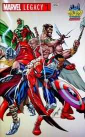 Marvel Legacy #1 J Scott Campbell Gatefold Cover