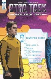 Star Trek: Boldly Go #1 Subscription Variant