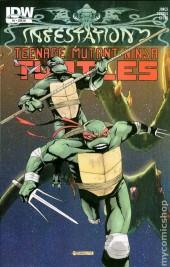 Infestation 2: Teenage Mutant Ninja Turtles #1 25 Copy Variant