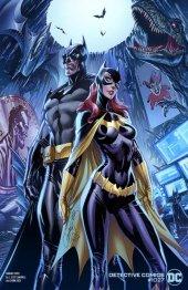 Detective Comics #1027 Cover C J. Scott Campbell Batman & Batgirl Variant