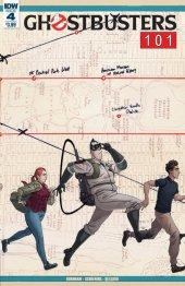 Ghostbusters 101 #4 Original Cover