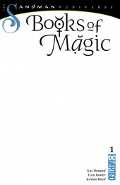 Books of Magic #1 Blank Cover