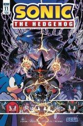 Sonic the Hedgehog #11 Original Cover