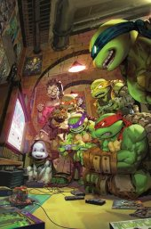 Teenage Mutant Ninja Turtles #102 Kael Ngu Exclusive Virgin Variant