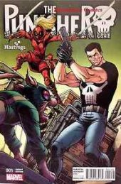 The Punisher #1 Todd Nauck Hastings Variant