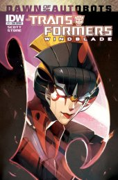 The Transformers: Windblade #1 Subscription Variant