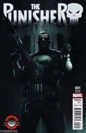 The Punisher #1 Limited Edition Comix Francesco Mattina Variant