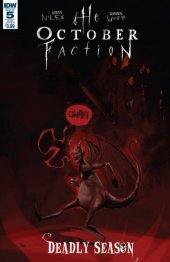 The October Faction: Deadly Season #5 Subscription Variant