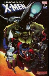 Uncanny X-Men #8 Marquez Guardians of the Galaxy Variant