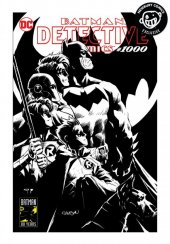Detective Comics #1000 Newbury Comics Exclusive Patrick Gleason & Alejandro Sanchez B&W Variant