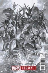 Marvel Legacy #1 Alex Ross Sketch Variant