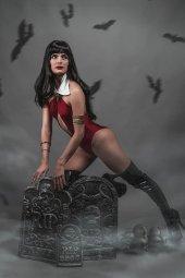 Vengeance of Vampirella #8 1:20 Titan Cosplay Cover